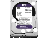 "WD 4TB 3.5"" SATA III 64MB IntelliPower WD40PURZ Purple"