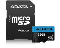 A-DATA UHS-I MicroSDXC 128GB class 10 + adapter AUSDX128GUICL10 85-RA1