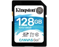 KINGSTON UHS-I U3 SDXC 128GB V30 SDG/128GB Go