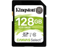 KINGSTON UHS-I SDXC 128GB 80R class 10 SDS/128GB