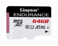 KINGSTON UHS-I microSDXC 64GB C10 A1 Endurance SDCE/64GB