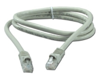 E-GREEN Kabl UTP patch Cat6 1m sivi