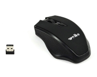 WEIBO RF-2812 Wireless Optical USB crni miš