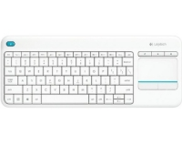 LOGITECH K400 Plus Wireless Touch US bela tastatura