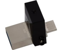 KINGSTON 16GB DataTraveler MicroDuo USB 3.0/USB OTG flash DTDUO3/16GB crni